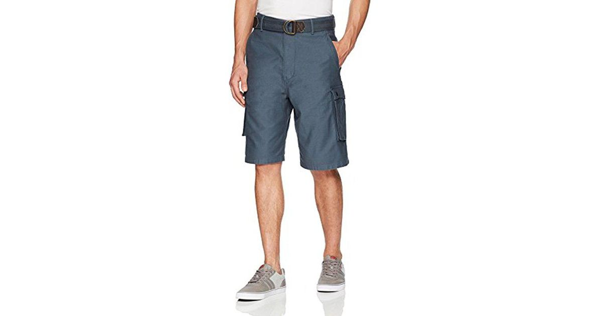 c8b63b92 Levi's Snap Cargo Short in Blue for Men - Save 16% - Lyst