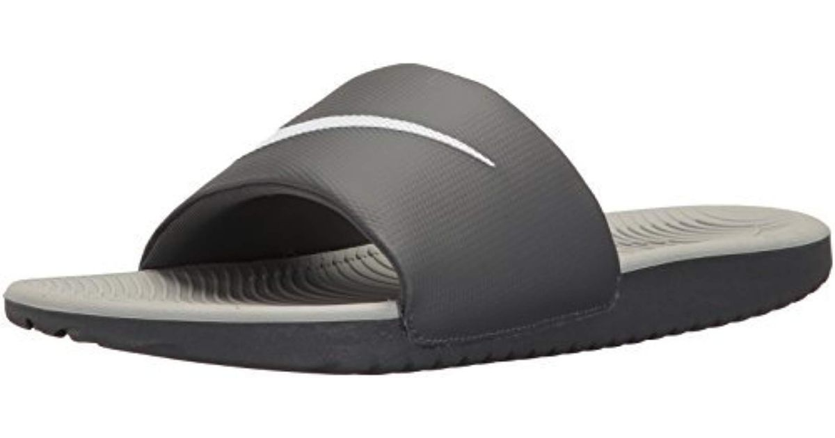 5c8bc4cd37cf Lyst - Nike Kawa Slide Athletic Sandal in Gray for Men - Save 20%