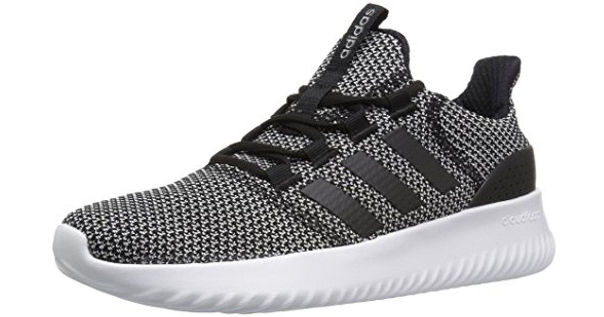 Lyst - Adidas Cloudfoam Ultimate W Running Shoe in Black for Men d030f9dd8