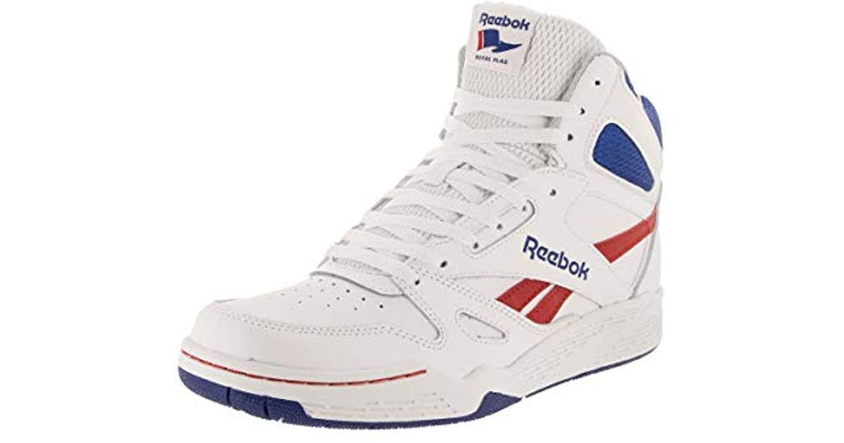ee8e84eee9f7 Lyst Reebok Royal Bb4500 Hi Fashion Sneaker In White For Men