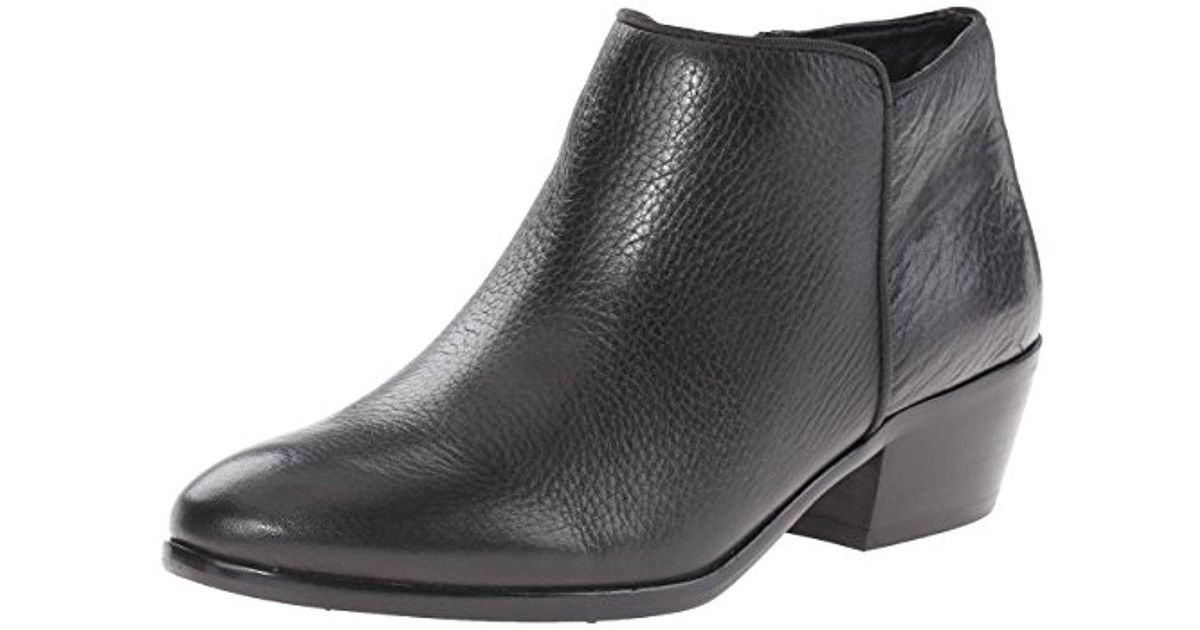 ebced4722ab6 Lyst - Sam Edelman Petty Ankle Boot in Black - Save 69%