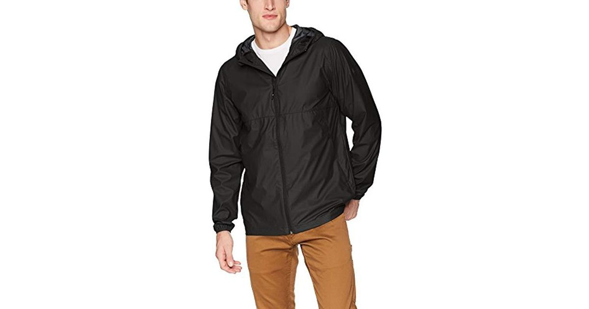 a1dfa02a7e Quiksilver Kamakura Rains Jacket in Black for Men - Save 54% - Lyst