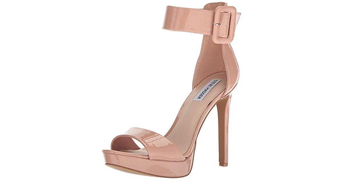 eacdf0c3302 Lyst - Steve Madden Circuit Dress Sandal in Pink