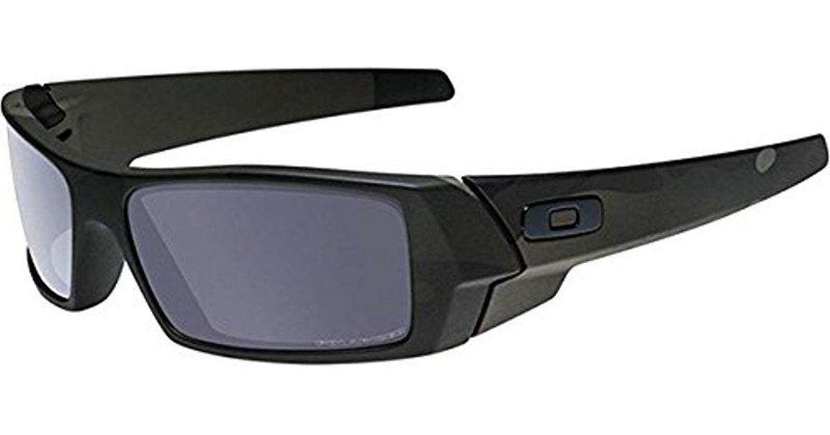 6cc7e5a6a7 Lyst - Oakley Oo9014 Gascan Polarized Prizm Rectangular Sunglasses in Black  for Men