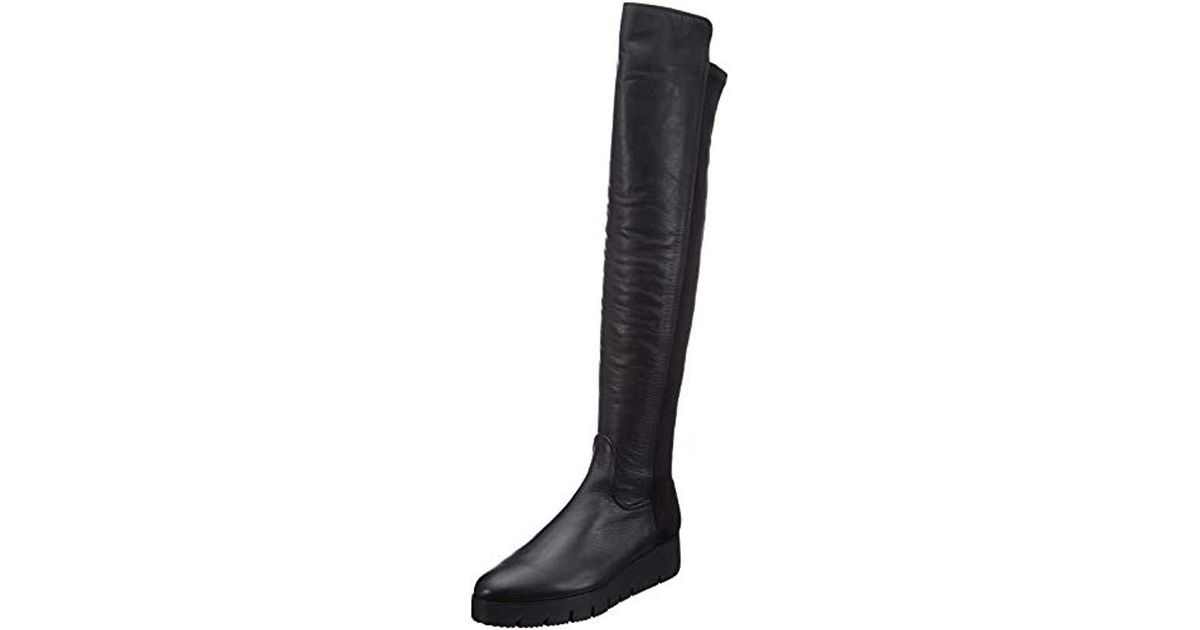 7e1bdfaa28e Unisa  s Cristen sua st High Boots in Black - Lyst