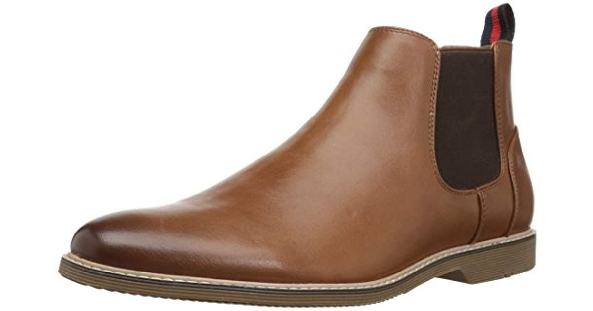1115247cdf6 Lyst - Steve Madden Native Chelsea Boot in Brown for Men - Save 10%