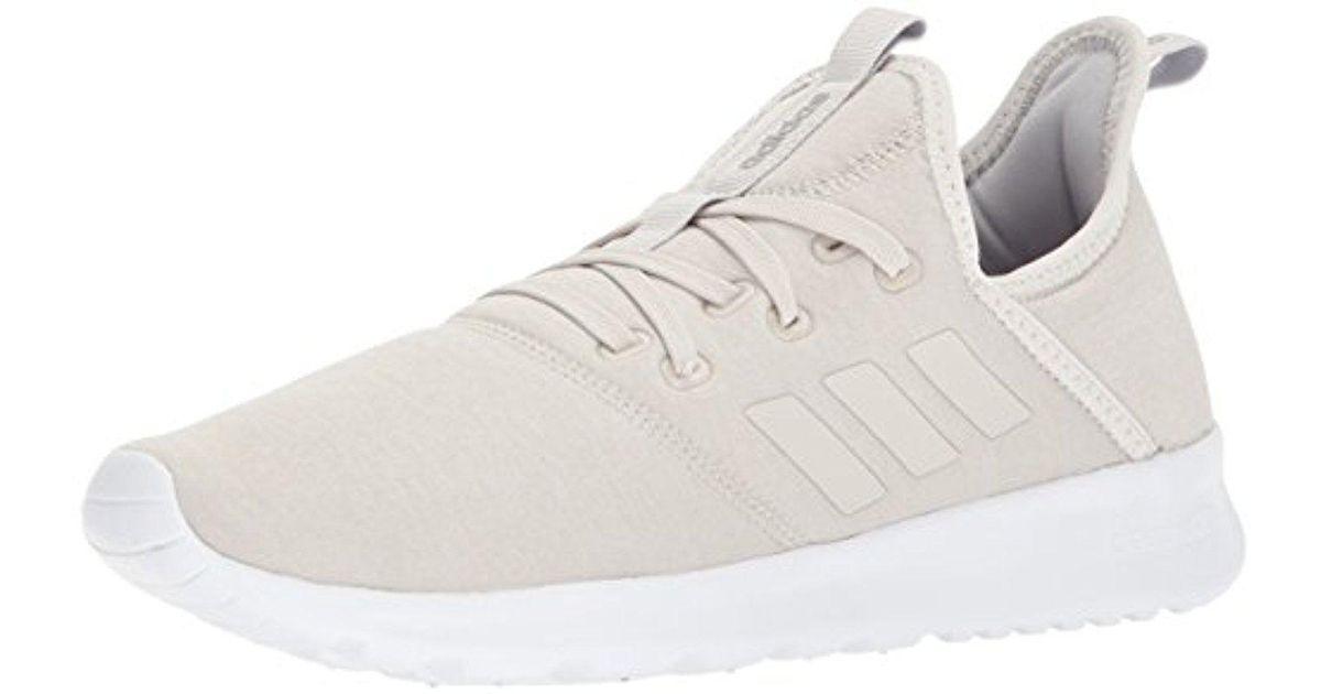 lyst adidas cloudfoam puro scarpa da corsa in bianco.