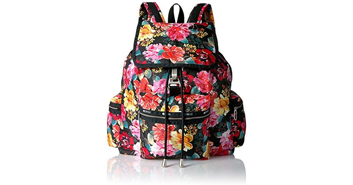 a3d8c8aaf LeSportsac Essential 3 Zip Voyager Backpack in Black - Lyst