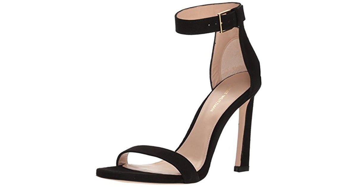 Stuart Weitzman Barebootie Heeled Sandal (Women's) FSjKwUten