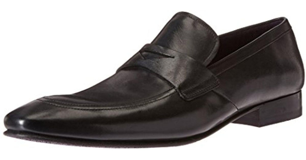 0bf3a389d5dd4 Ted Baker - Black Roykso Penny Loafer for Men - Lyst