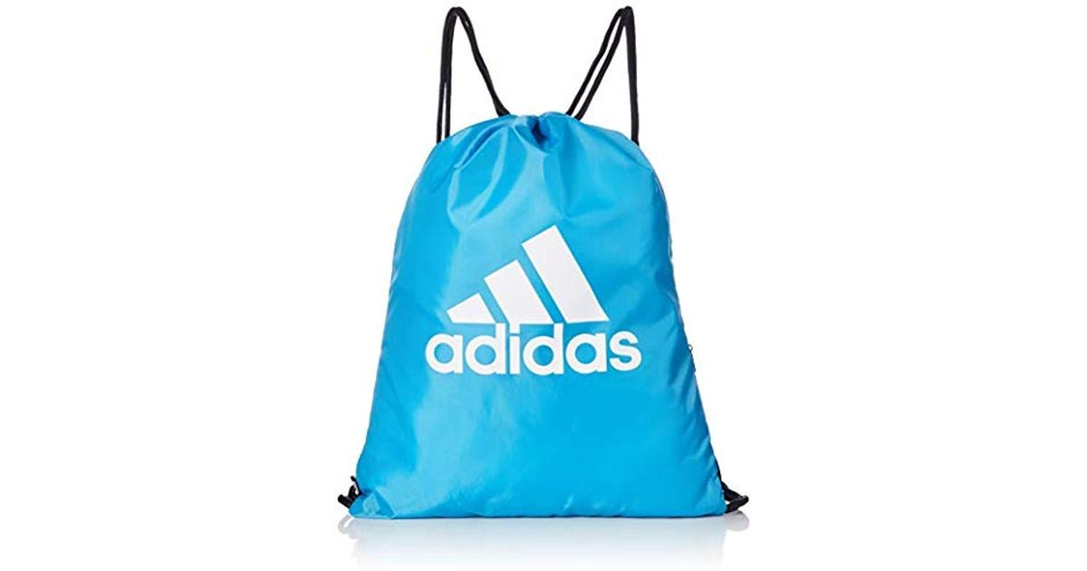 adidas Unisex Gymsack Sp Backpack in Blue - Lyst 982946f15c