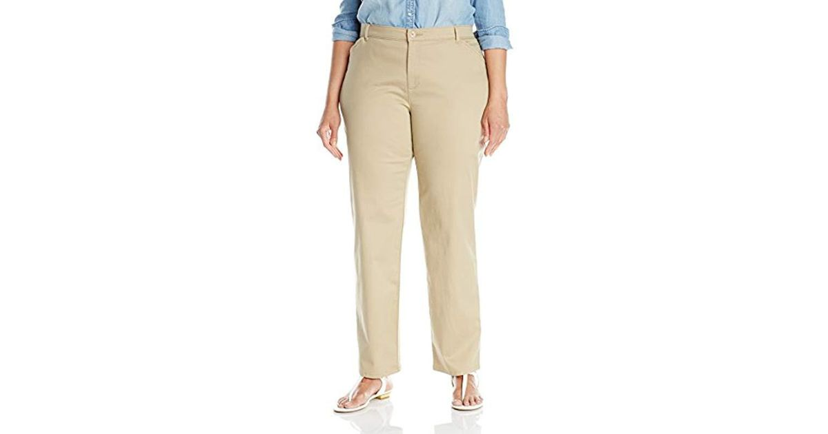 d66e7d24df2 Lyst - Lee Jeans Plus-size Relaxed-fit All Day Pant