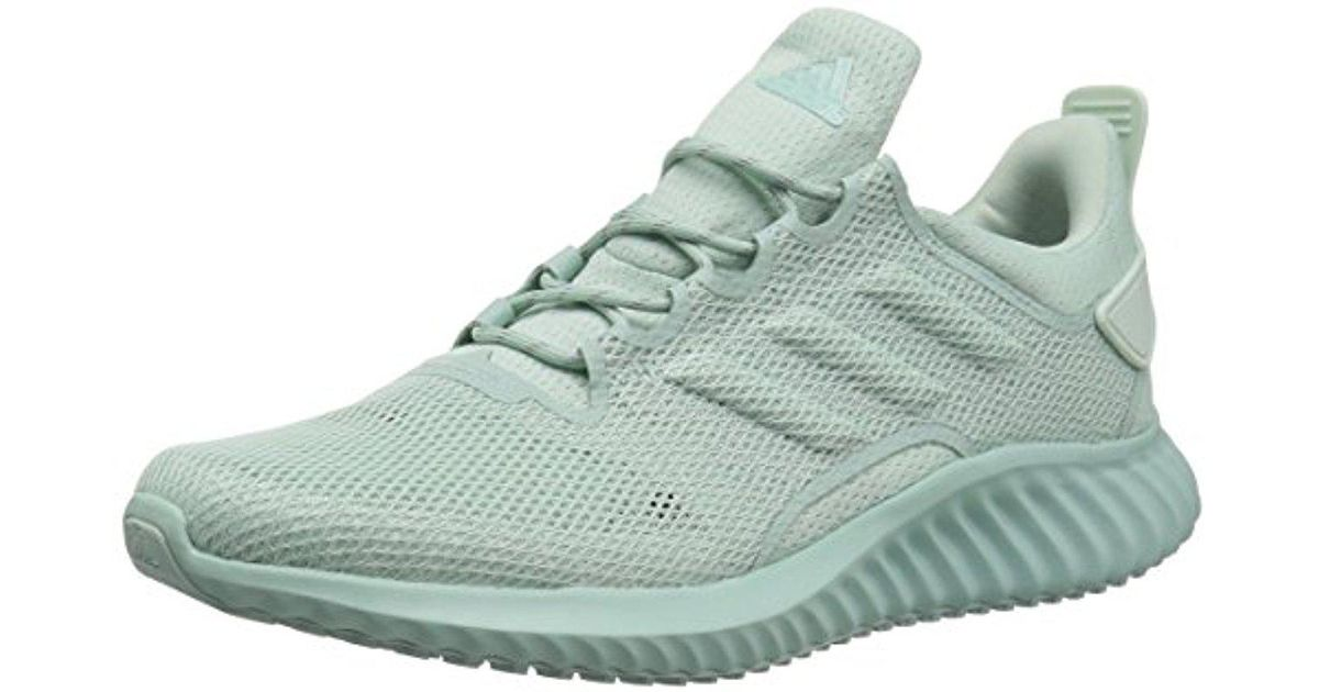 fb06357d0 Lyst - adidas Alphabounce Cr Cc Running Shoe in Green for Men