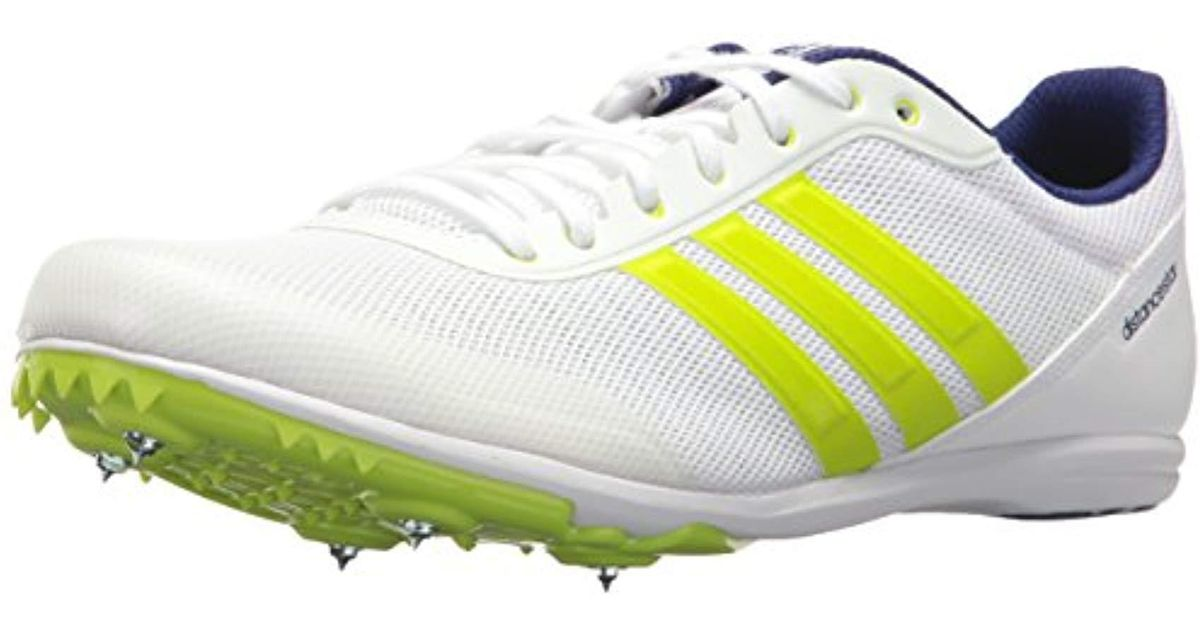 Adidas Multicolor Distancestar, Whitezero Metallicslime, 11 M Us for Men Lyst