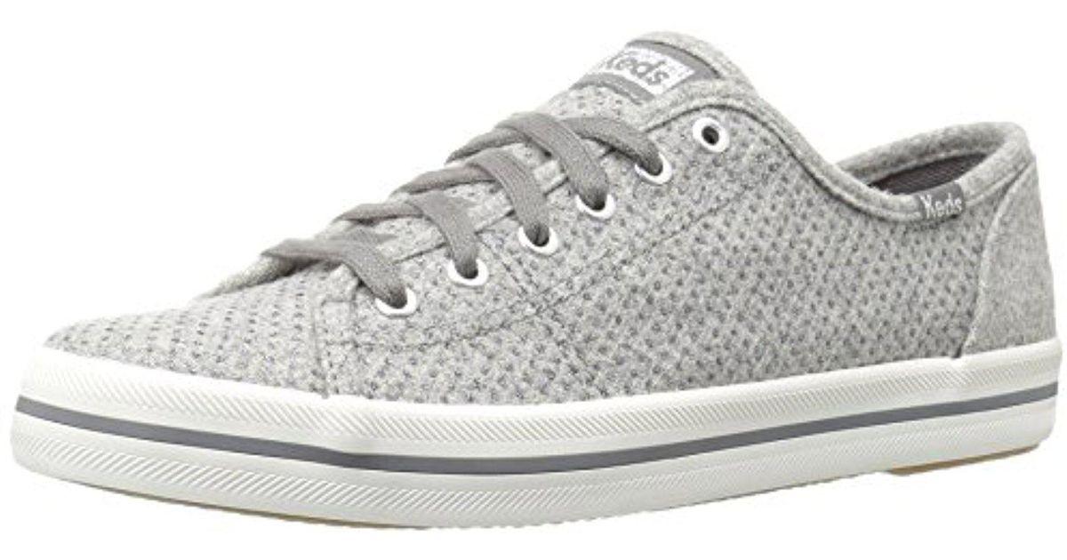 8aabfaa206a5 Lyst - Keds Kickstart Glitter Wool Fashion Sneaker in Gray for Men