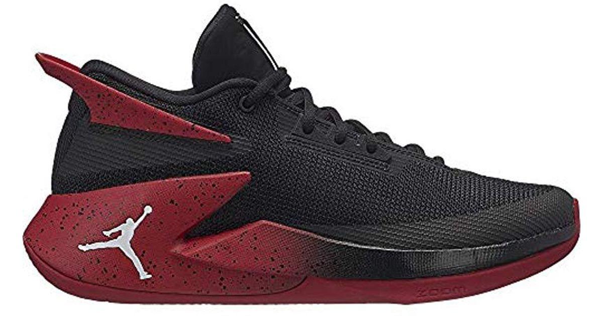 208a4d90003 Nike Jordan Fly Lockdown Basketball Shoes in Black for Men - Lyst