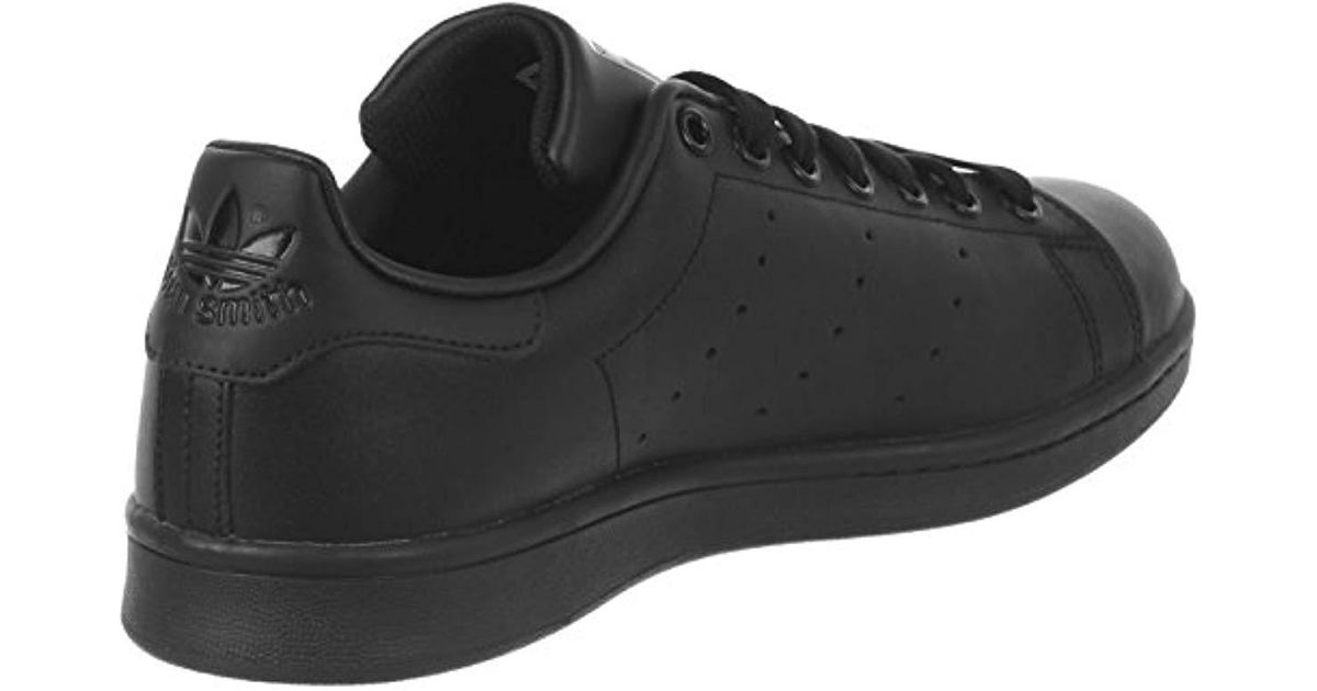 on sale c3745 fe4f5 Adidas - Black Stan Smith, Trainers for Men - Lyst