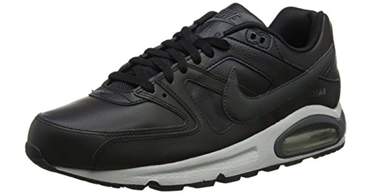 1c04c5fcc73 ... free shipping nike s herren sneaker air max command leather gymnastics  shoes in black for men
