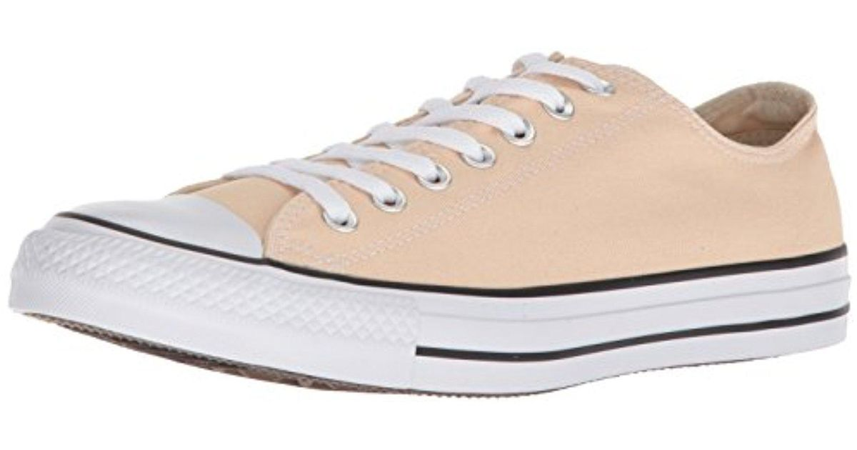 7bf0a5226f0c Lyst - Converse Chuck Taylor All Star Seasonal Canvas Low Top Sneaker -  Save 11%