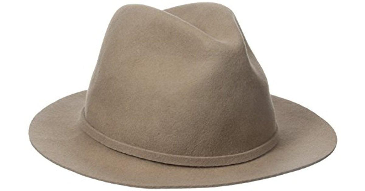 Lyst - Woolrich Crushable Cut Edge Safari Hat in Brown for Men 7dbce70b5fc6