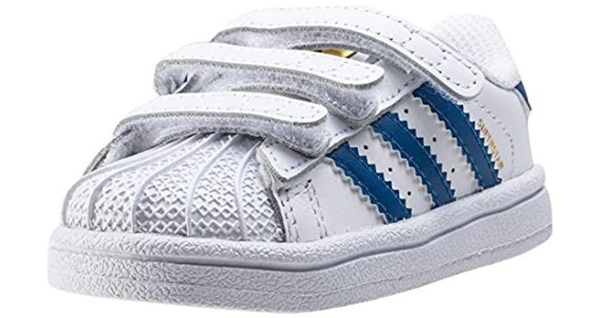 new concept 3cd51 83a76 adidas Superstar Foundation Cf, Unisex Babies Trainers in Blue for Men -  Lyst