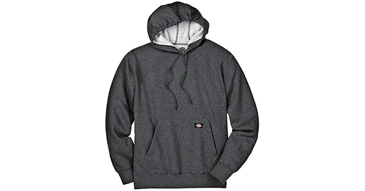 6750b547d6 Lyst - Dickies Midweight Fleece Pullover Sweatshirt in Gray for Men