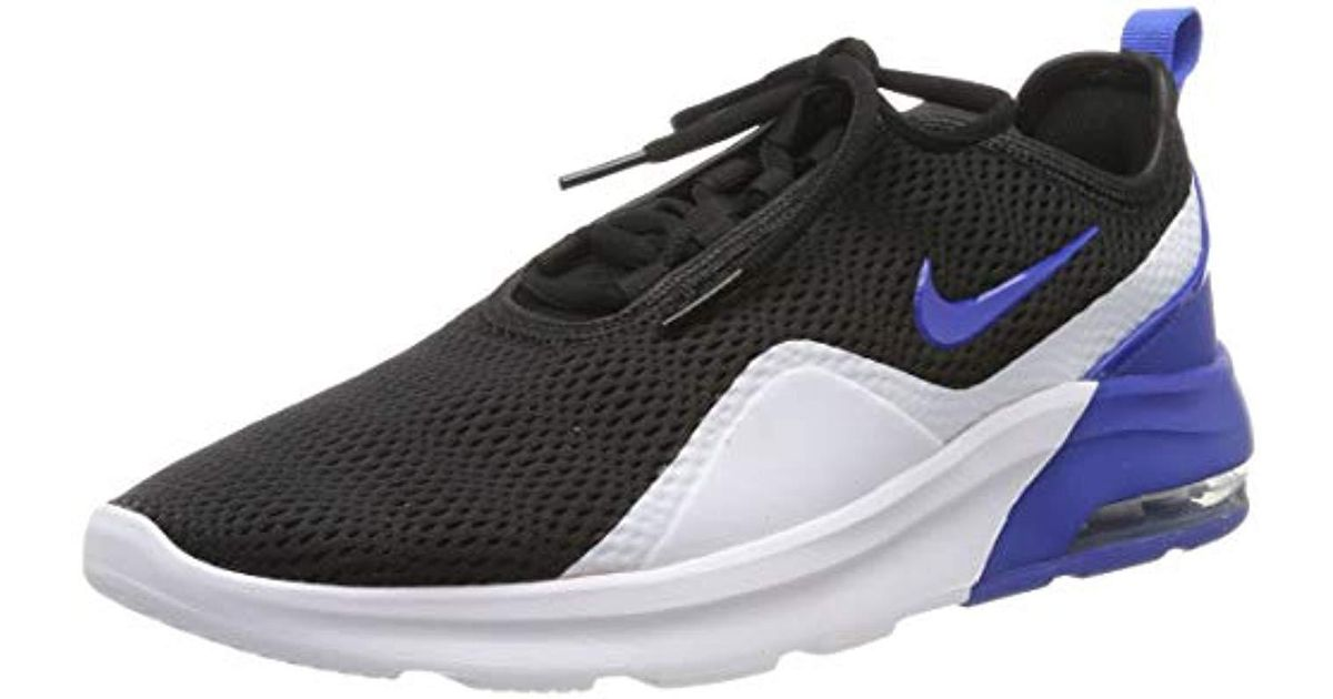 on sale b4543 ffa9c Nike Air Max Motion 2 Running Shoes in Black for Men - Lyst