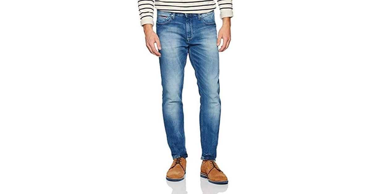 49638c1713a Tommy Hilfiger Slim Tapered Steve Bemb Jeans in Blue for Men - Lyst