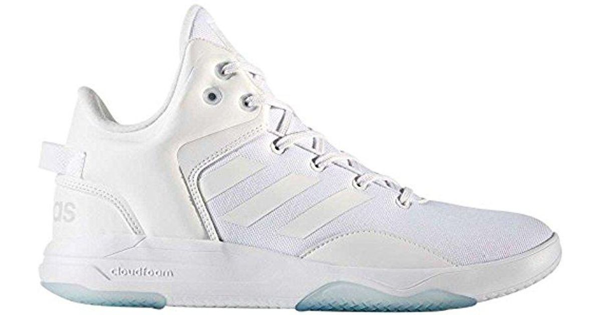 new products d59a6 2a98e Lyst - adidas New Cloudfoam Revival Mid Basketball Shoe Whitegrey 10.5 in  White for Men