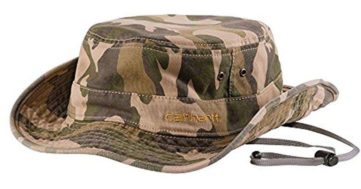 Lyst - Carhartt Billings Boonie Hat in Green for Men 725d101e246