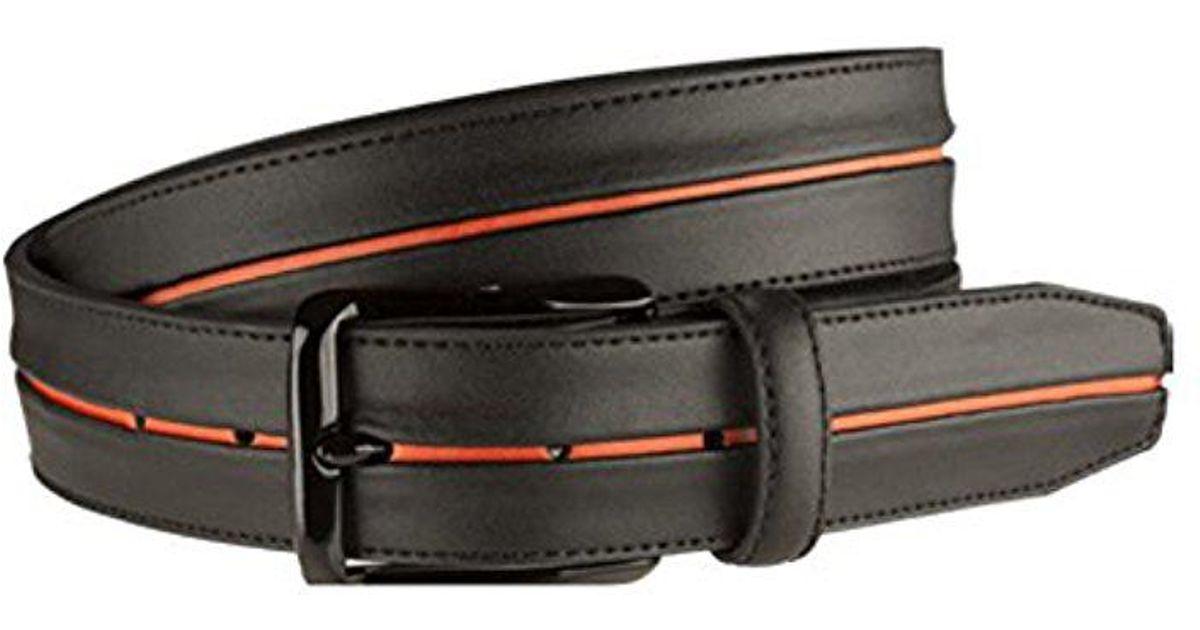 7840a115b1356 Lyst - Nike Tiger Woods Stripe With G Flex Belt in Black for Men