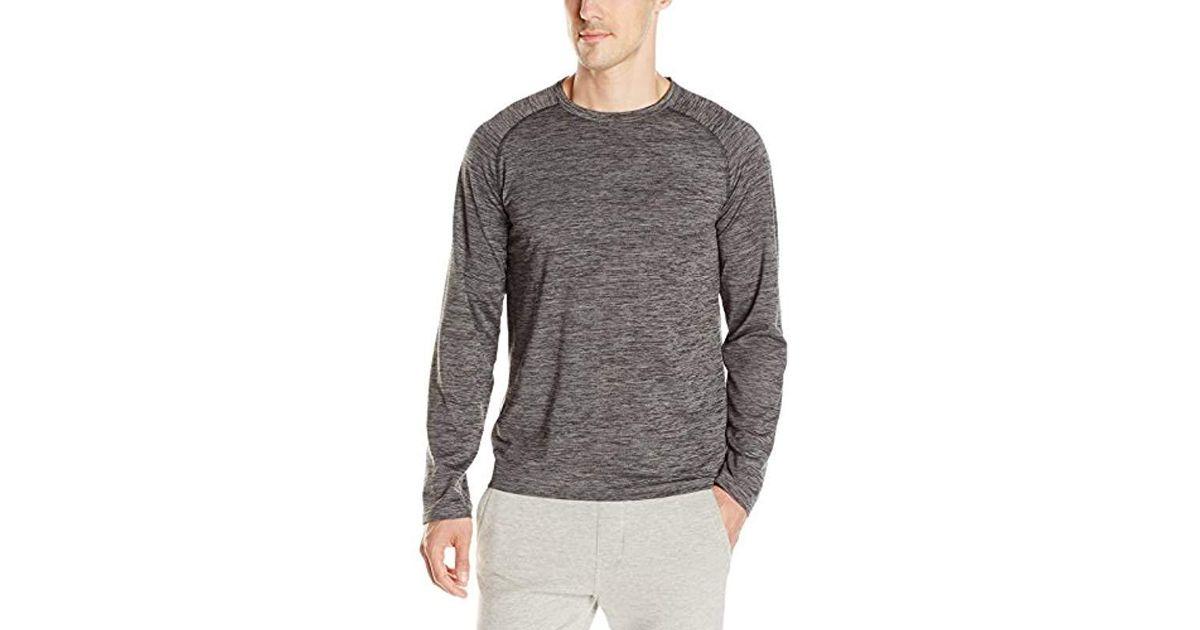 b3288404be Lyst - Jockey Cool-sleep Jersey Long-sleeve Lounge T-shirt in Gray for Men