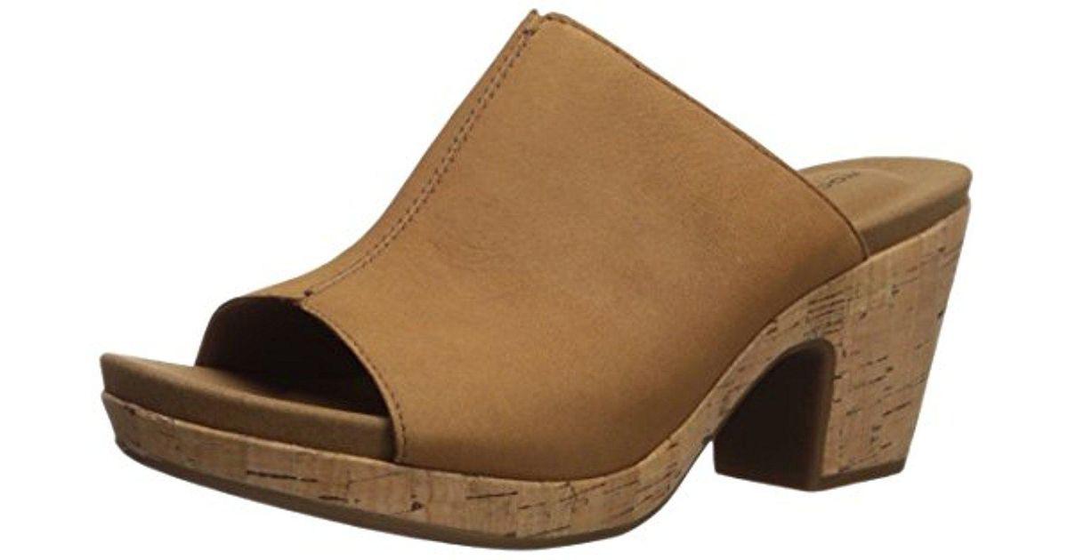 0bc96d5a83b3 Lyst - Rockport Vivianne Slide Heeled Sandal - Save 5%