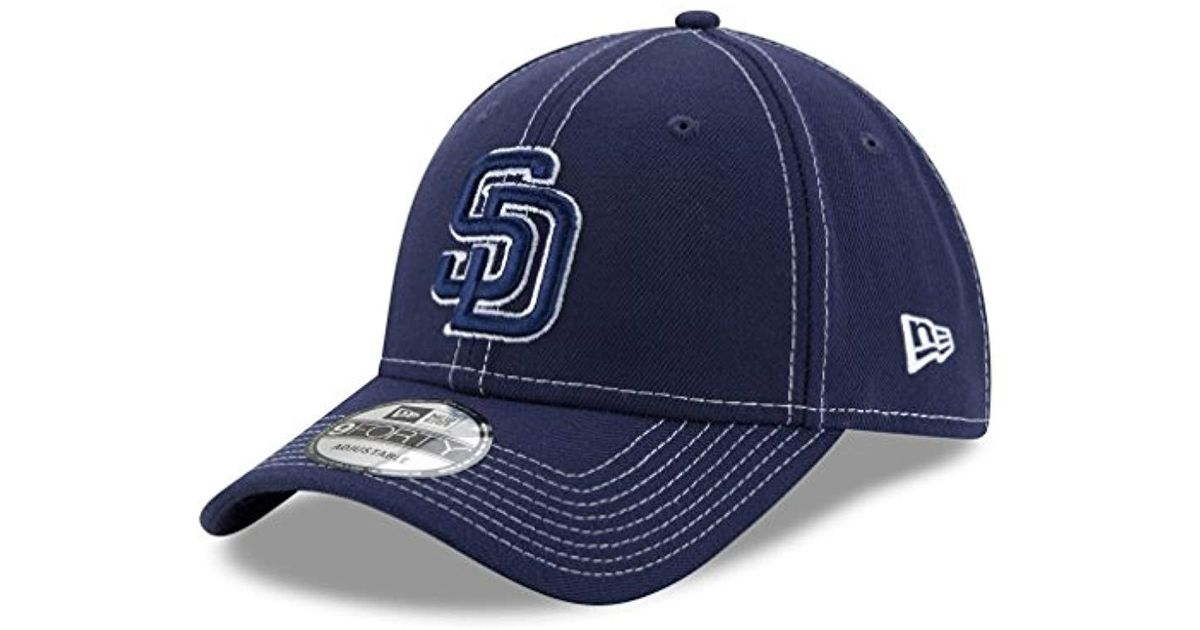new product eca56 ae3f5 Lyst - KTZ San Diego Padres 9forty Mlb The League Class Adjustable Hat in Blue  for Men
