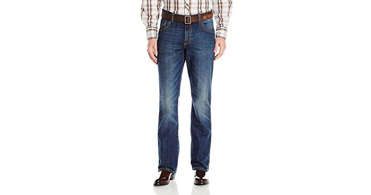 cc8b29e65ac Lyst - Wrangler Retro Relaxed-fit Bootcut Jackson Hole Jean in Blue for Men
