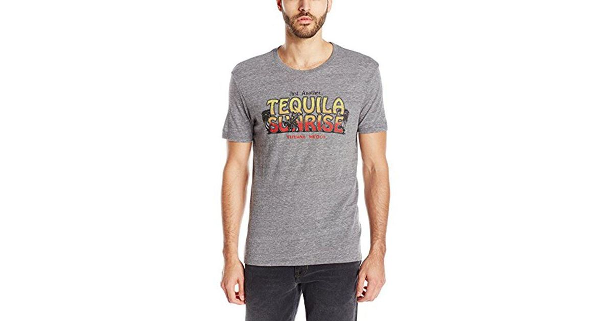 b7ac10bce Lucky Brand S Tequila Sunrise Graphic Tee in Gray for Men - Lyst