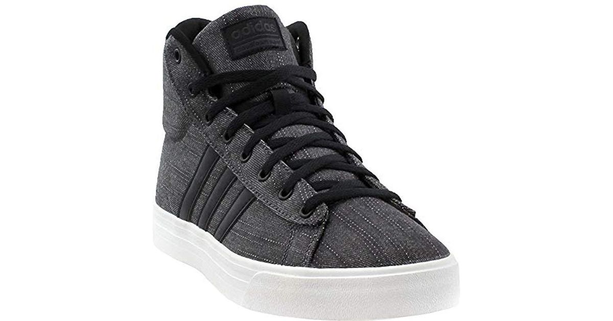 6ce57c6bbcc Lyst - adidas Cf Super Daily Mid Sneaker in Black for Men