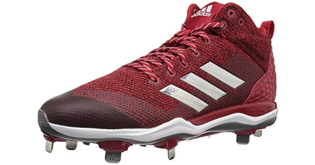 3e072f928 Lyst - Adidas Originals Freak X Carbon Mid Baseball Shoe in Red for Men