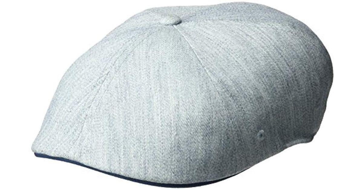 89fa0f3ec0883 Lyst - Kangol Wool Flexfit 504 Ivy Cap in Blue for Men - Save 24%
