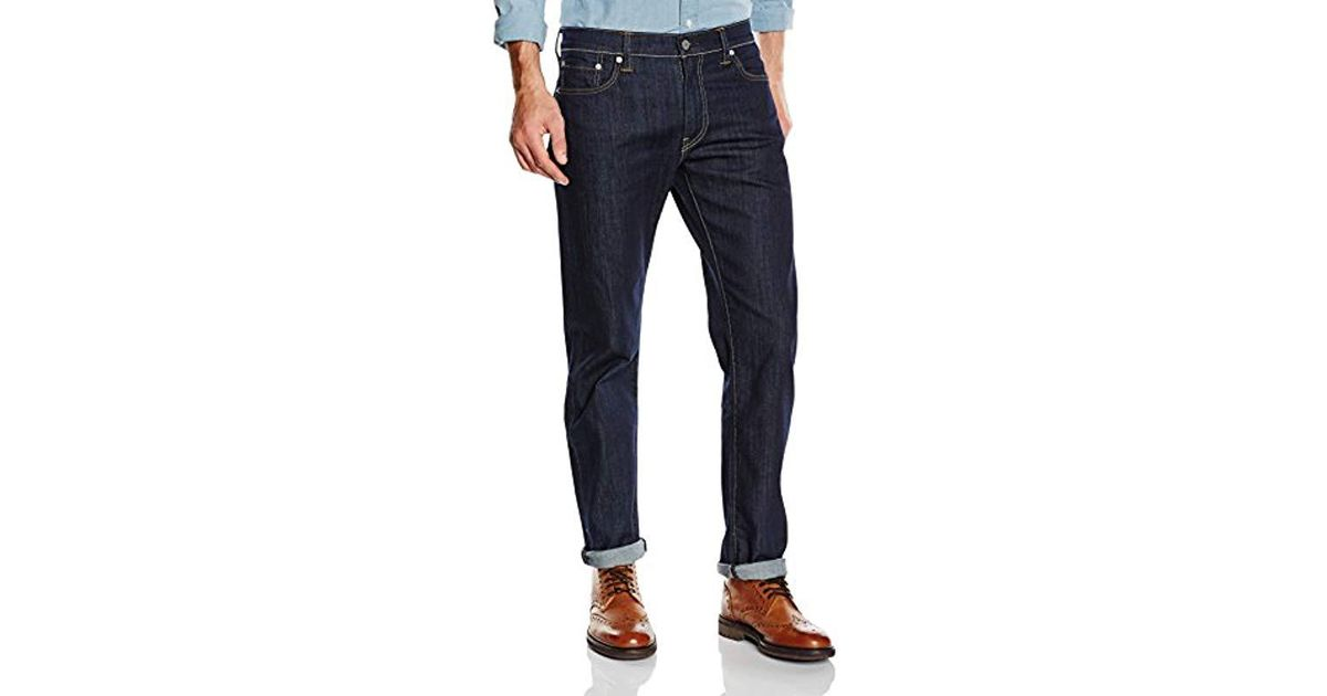 7ee78514 Levi's 504 Regular Straight Fit Jeans in Blue for Men - Lyst