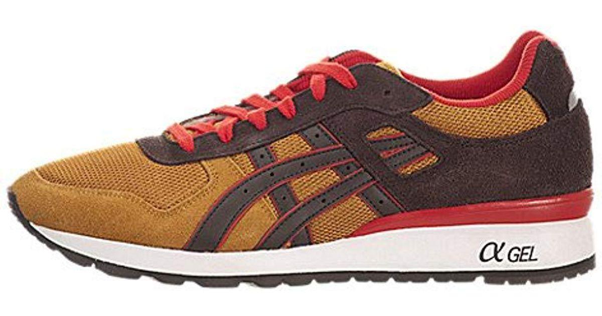 Asics - Red Gt Ii Retro Sneaker for Men - Lyst