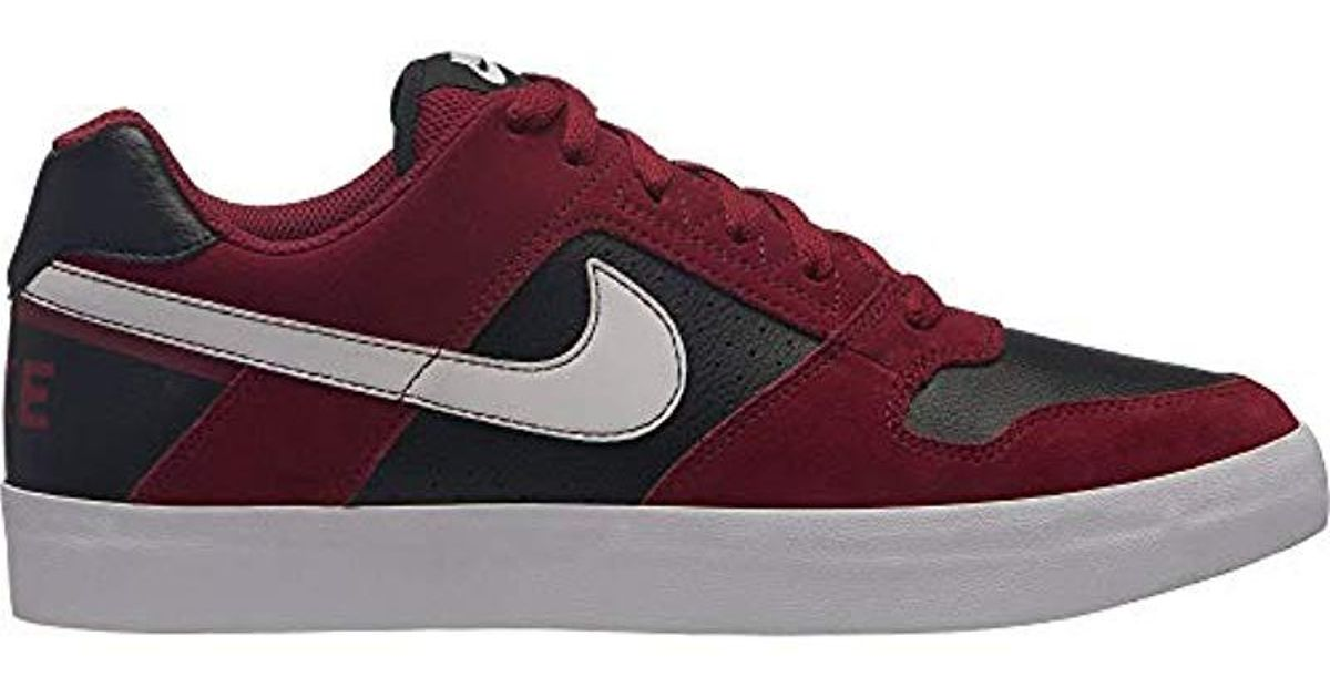 Nike - Red 's Sb Delta Force Vulc Low-top Sneakers for Men - Lyst