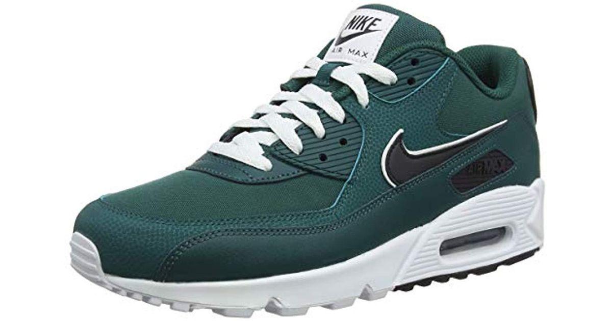 best sneakers 8fefe 6db21 Nike Air Max 90 Essential Gymnastics Shoes in Green for Men - Lyst