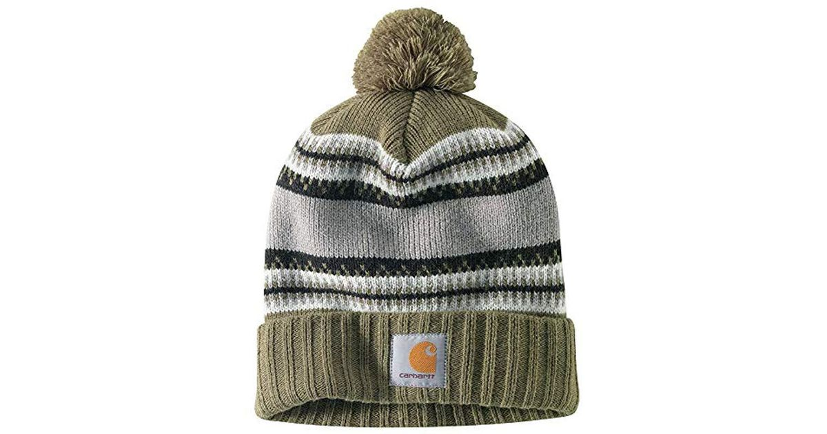 Lyst - Carhartt Rexburg Hat in Green for Men c6d2f79c980