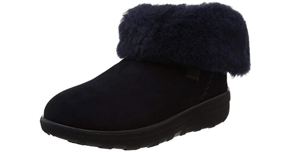 a622b7651b43db Fitflop Mukluk Shorty 2 Boots Mid Calf in Blue - Save 45% - Lyst