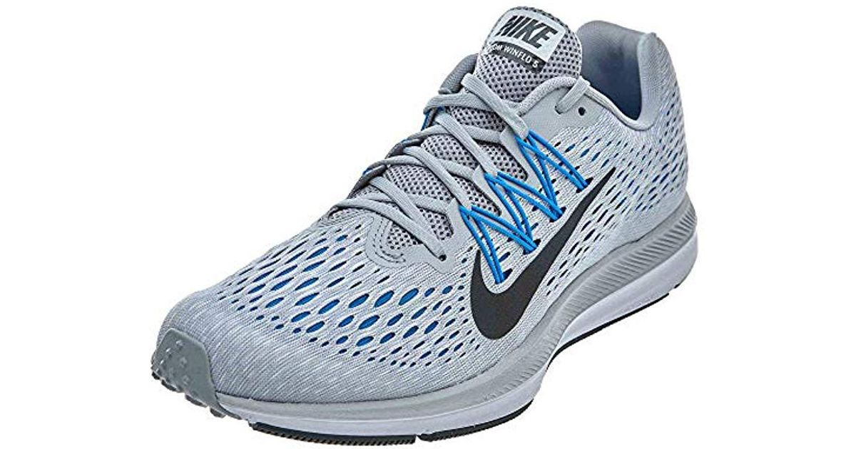 on sale 98cec 9dd40 Nike - Blue Zoom Winflo 5 Running Shoes for Men - Lyst