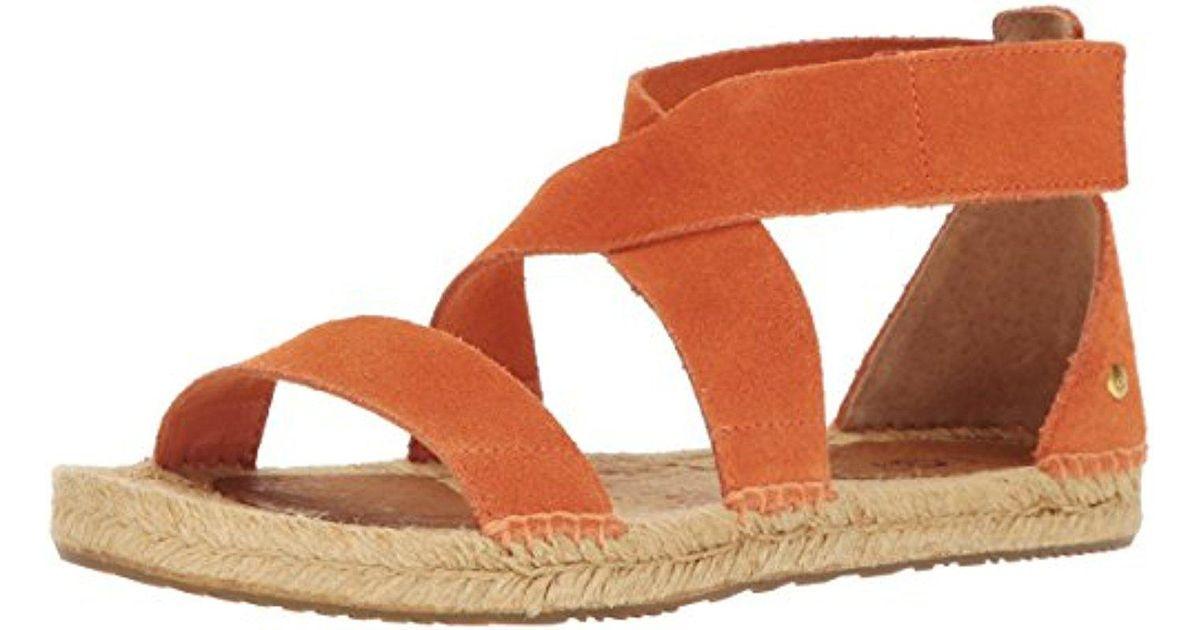 5acf21009dd8 Lyst - UGG Mila Gladiator Sandal