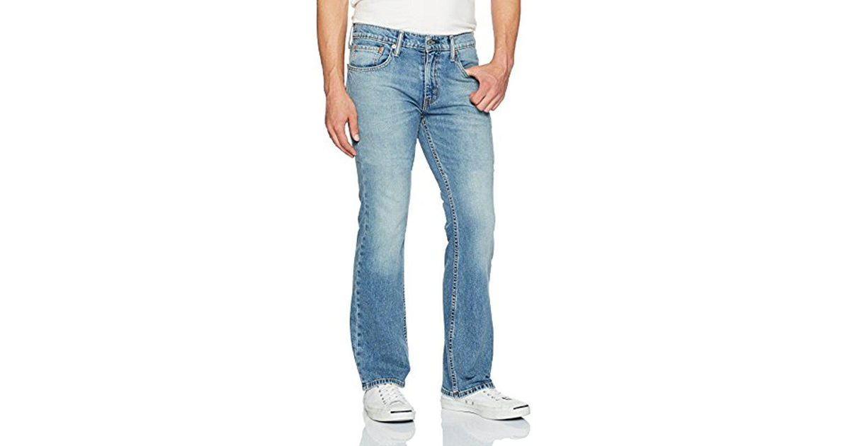 8860f122 Lyst - Levi's 527 Slim Bootcut Jean in Blue for Men - Save 20%