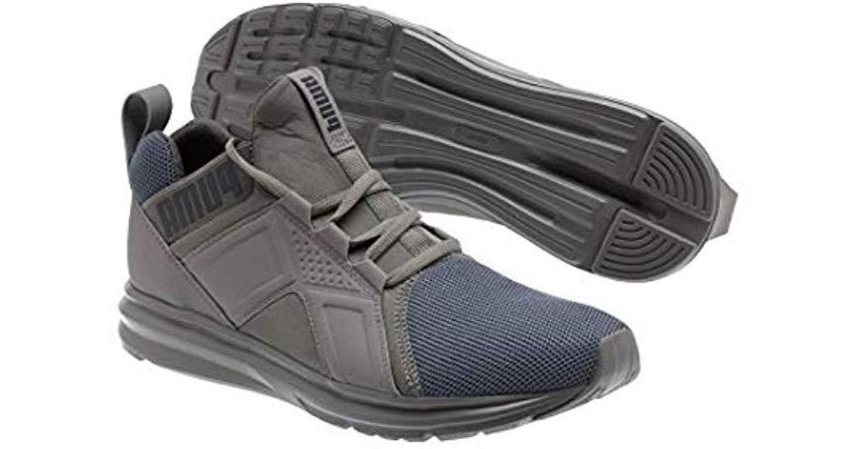 aeda616f5d87 Lyst - Puma Enzo Sneaker in Gray for Men