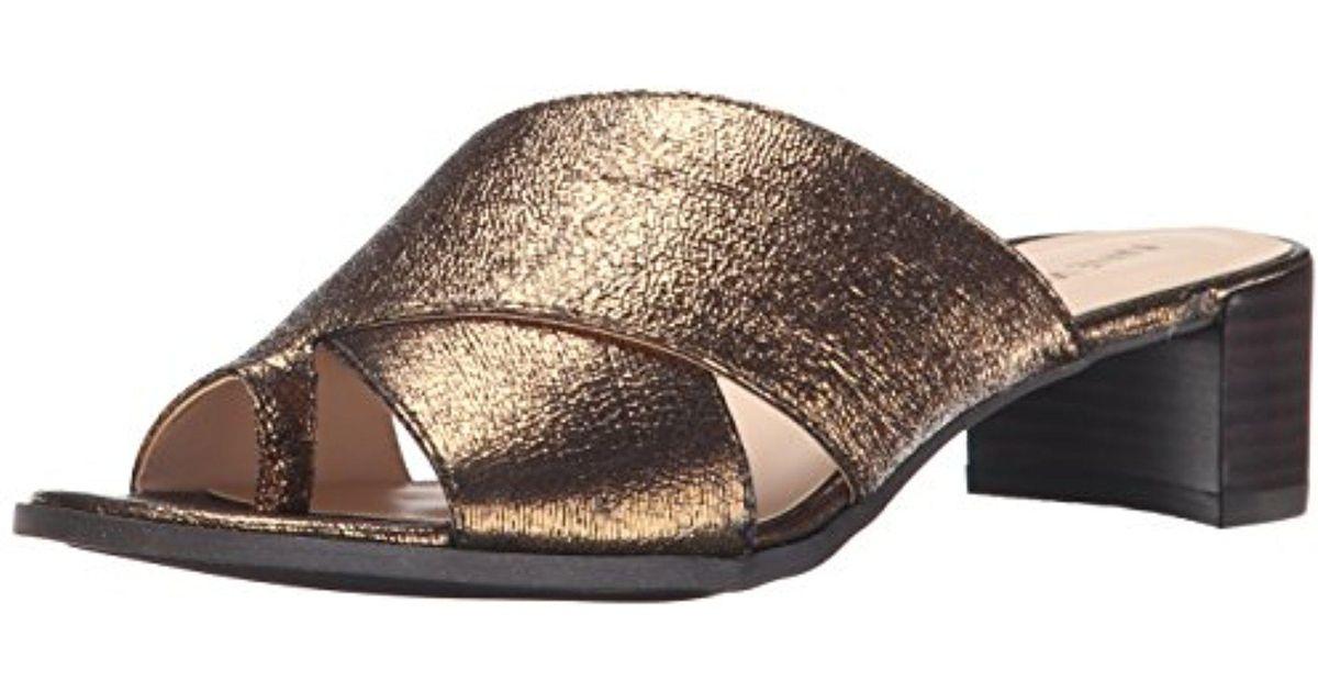 Nine West Nonstop Metallic-Kleid Sandale